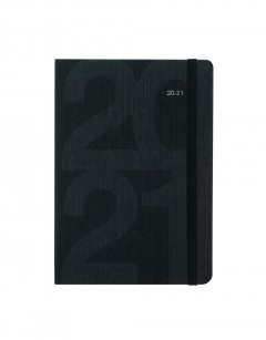 Block A5 Week to View Diary 2020-2021 Black