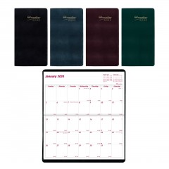2-Year Monthly Pocket Planner 2020-2021