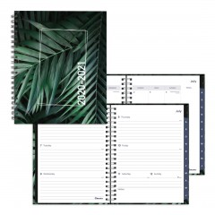 Academic Weekly Planner Tropical 2020-2021