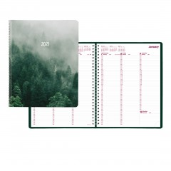 Weekly Planner 2021, Mountain Design