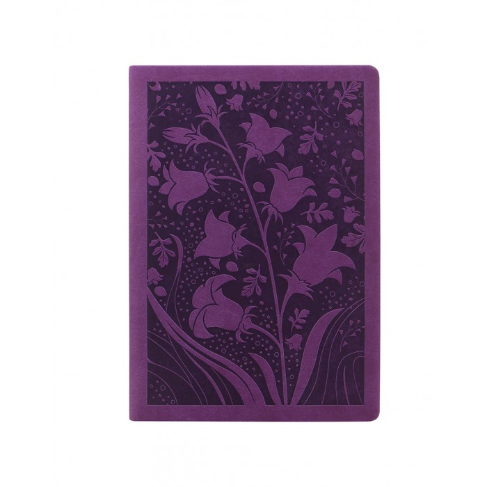 Blossom A5 Week to View Diary 2021 Purple