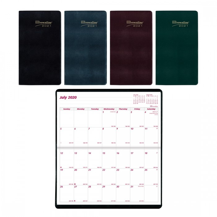 Academic Monthly Academic Pocket Planner 2020-2021
