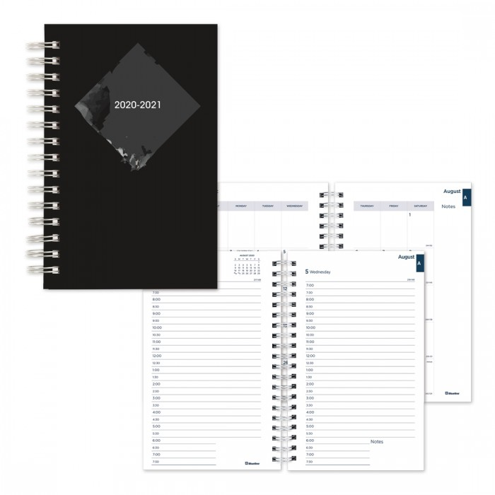 Academic Daily Planner Stone 2020-2021