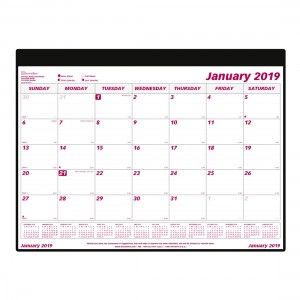 2019 Monthly Desk Pad Refill
