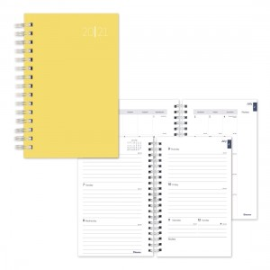 Academic Weekly Planner Color rush 2020-2021