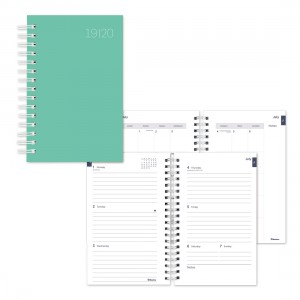 Academic Weekly Planner Pastel Colour rush 2019-2020