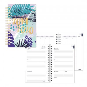 Academic Weekly Planner Tropical 2019-2020