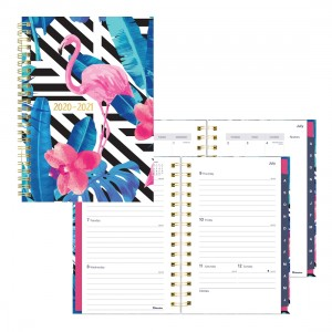 Academic Weekly Planner Flamingo 2020-2021