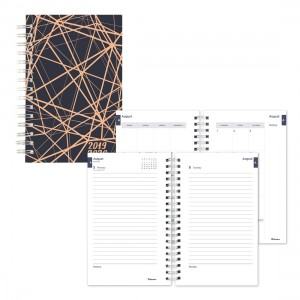 Academic Daily Planner Lines 2019-2020