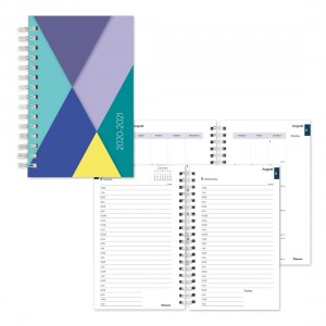Academic Daily Planner Geometric 2020-2021