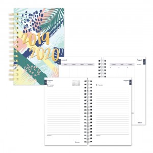 Academic Daily Planner Tropical 2019-2020