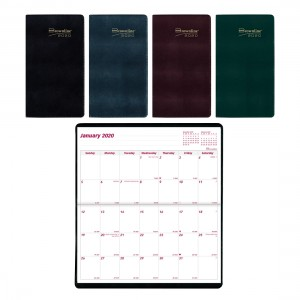 Monthly 2-Year Pocket Planner 2020-2021