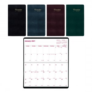2-Year Monthly Pocket Planner 2021-2022