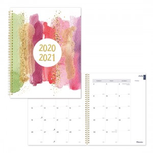 Academic Monthly Planner Stardust 2020-2021