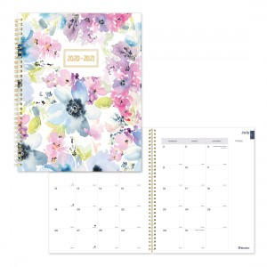 Academic Monthly Planner Floral Design 2020-2021
