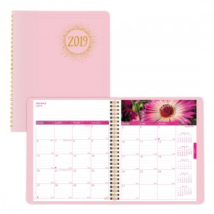 2019 Pink Ribbon Monthly Planner