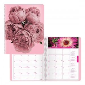 Pink Ribbon Monthly Planner 2021