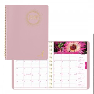Pink Ribbon Monthly Planner 2020