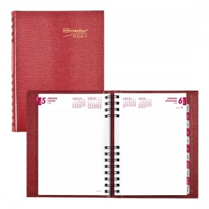 CoilPro Daily Planner 2021 Red