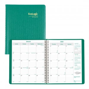 EcoLogix Monthly Planner 2020