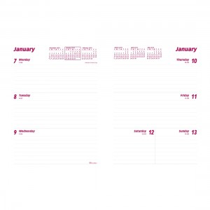 2019 Weekly Planner Refill for CB852