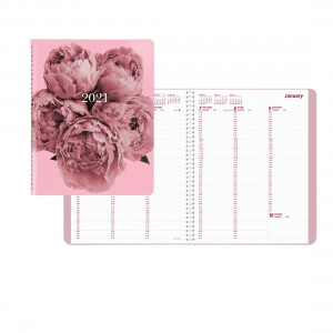 Essential/Pink Ribbon Weekly Appointment Book 2021