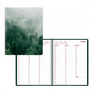 Mountain Weekly Planner 2022