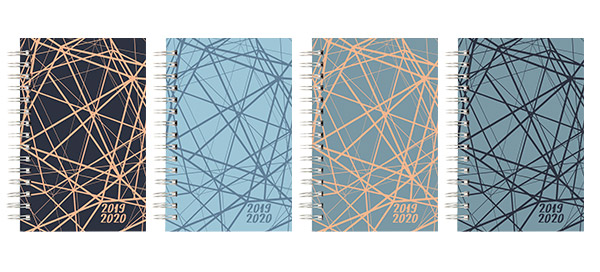 New Soft Touch Laminated 2019-2020 Planners!