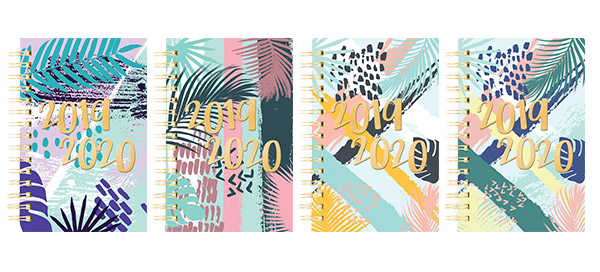 Tropical Collection 2019-2020 Planners!